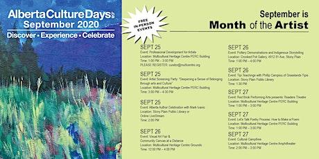 Alberta Culture Days | Professional Development for Artists tickets