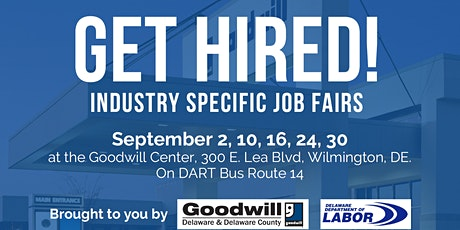 Goodwill's Industry Specific Job Fairs tickets