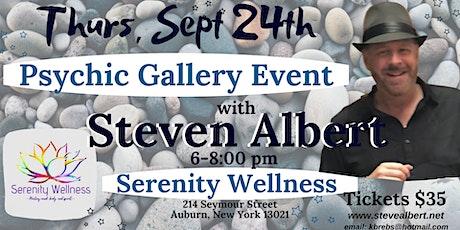Steven Albert: Psychic Gallery Event - Serenity tickets