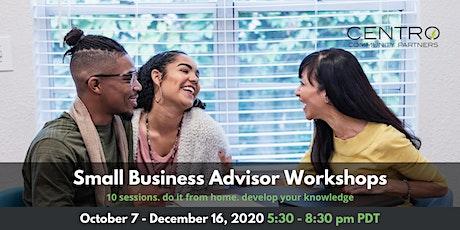 Small Business Advisor Workshops