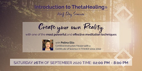 An Introduction to ThetaHealing tickets