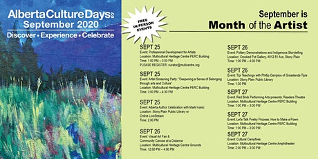 Alberta Culture Days | Readers Theatre tickets