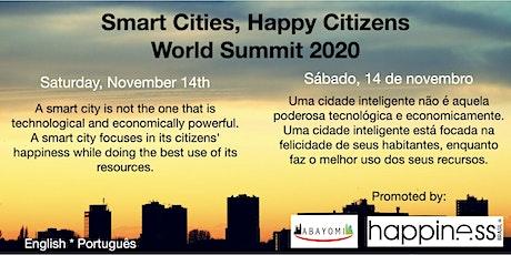 Smart Cities, Happy Citizens World Summit tickets