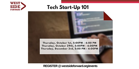 Tech Start-up 101 tickets