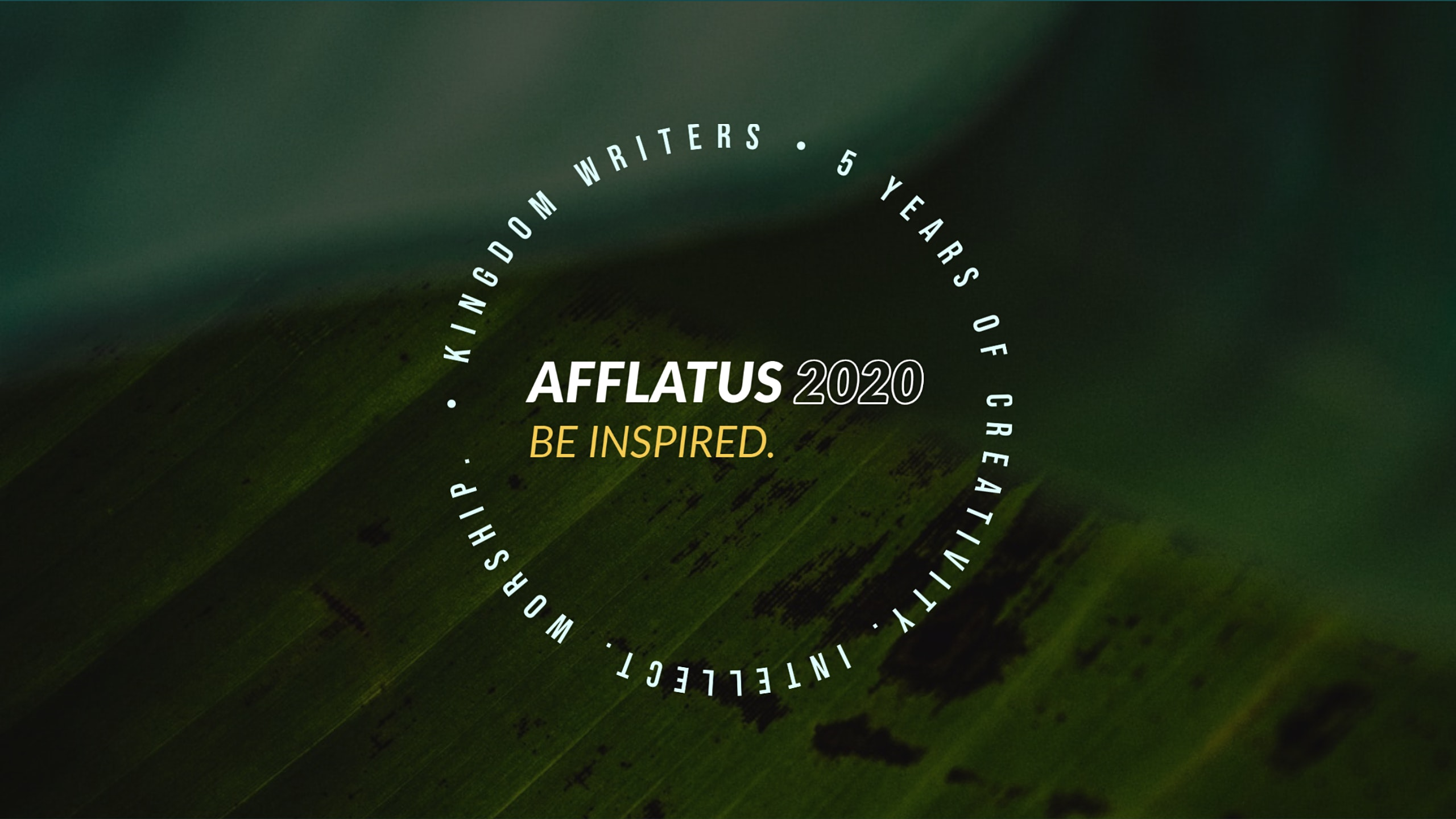 Afflatus: Creative Leaders Conference