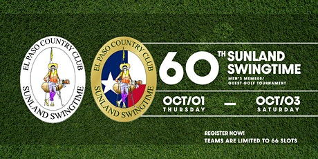 60th Annual Sunland Swingtime -- El Paso Country Club tickets