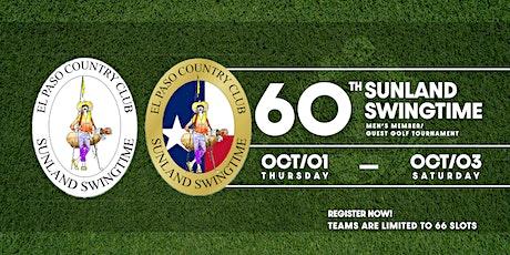 60th Annual Sunland Swingtime -- El Paso Country Club boletos