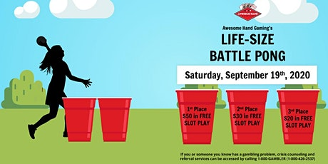 Life-Size Battle Pong at Moe-B-Dicks tickets