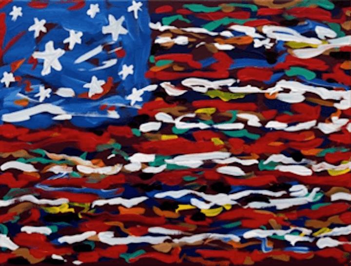 Virtual Purple Easel: Kids Modern America image