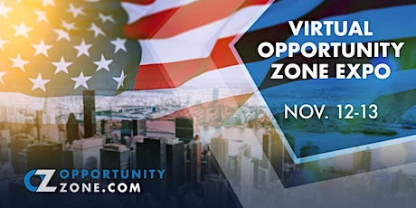 2020 Fall Virtual Opportunity Zone Expo tickets