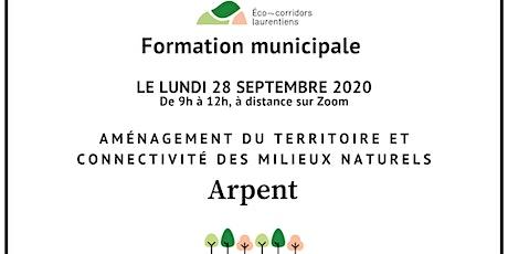 Aménagement du territoire et connectivité des milieux naturels tickets