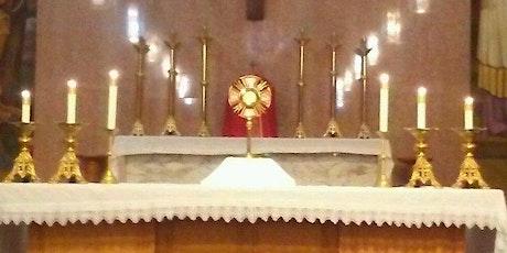 Eucharistic Exposition/Exposición Eucarística tickets