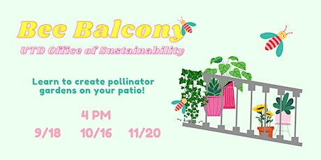 Bee Balcony Workshop III tickets