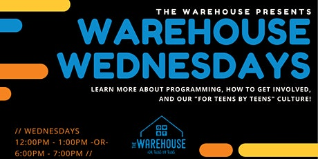 Warehouse Wednesdays tickets