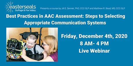 Best Practices in AAC Assessment tickets