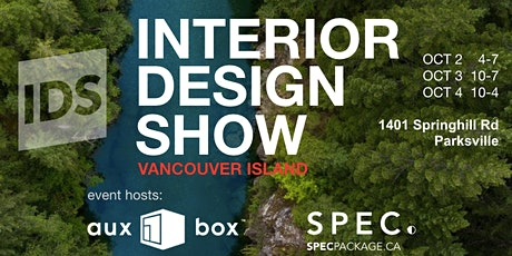 Interior Design Show Vancouver Island (October 2nd, 3rd & 4th) tickets