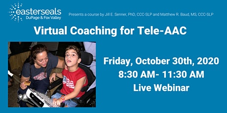 Virtual Coaching for Tele-AAC tickets