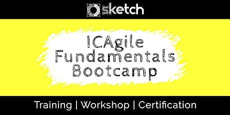 ICAgile Certified: Agile Fundamentals Bootcamp tickets