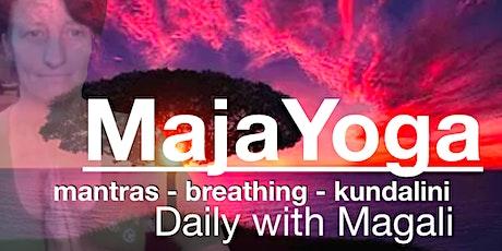 'Yoda Yoga' with Magali (by $ donation) tickets