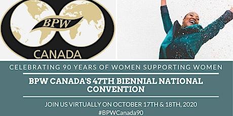 BPW Canada's 47th Biennial National Convention tickets