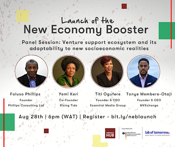Launch of the New Economy Booster image