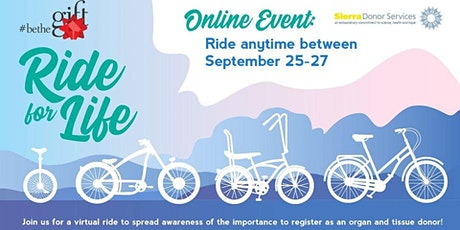 Be the Gift Ride for Life - CA tickets