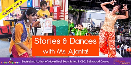 WINTER AGES 6 TO 10 YRS : Bollywood Dance  & Maya/Neel Stories w/Ms. Ajanta tickets