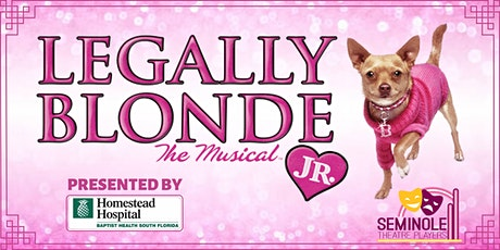 Legally Blonde Jr- Friday, April 9th 2021 8pm tickets