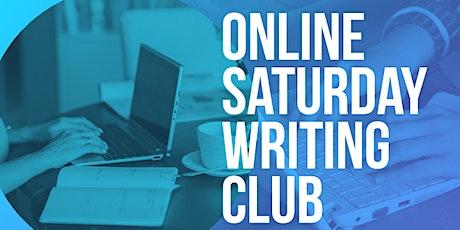 Middle School Virtual Writing Club - Saturday, December 12th tickets
