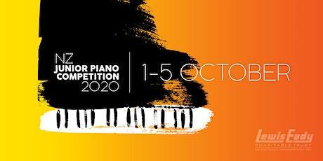 NZ JUNIOR PIANO COMPETITION 2020 - Recital: Tony YanTong Chen tickets