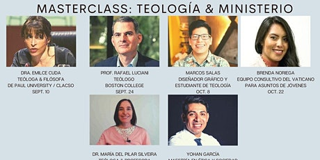 MASTERCLASS: TEOLOGIA Y MINISTERIO boletos
