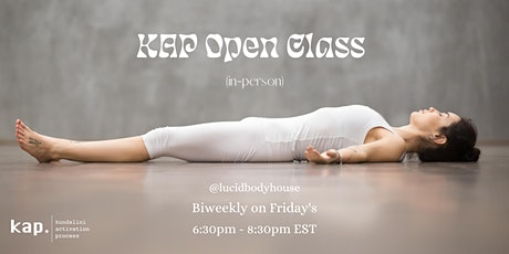 KAP Open Class (IN PERSON) tickets