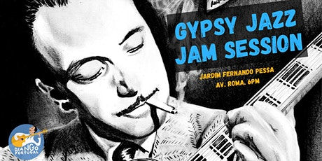 Gypsy Jazz Jam Session (at the Garden) bilhetes