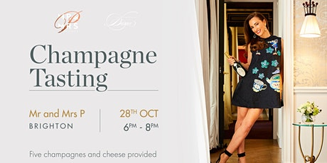 Champagne Tasting - Mr & Mrs P tickets