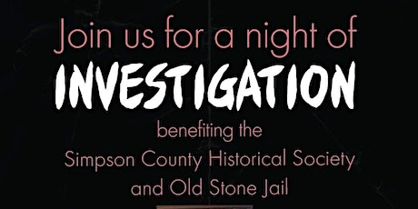 Public Investigation of the Simpson Co. Historical Society and Jail tickets