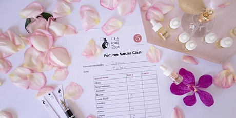 October. Virtual Perfume Masterclass. Australia Wide. tickets