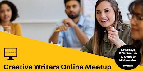WEBINAR: Online Creative Writers Meetup tickets