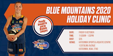 Sydney Flames Blue Mountains Holiday Clinic 2020 tickets