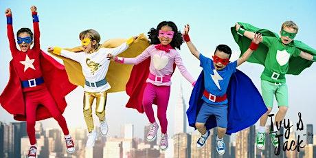 Superhero Party at Ivy & Jack tickets
