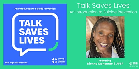 Talk Saves Lives - An Introduction to Suicide Prevention tickets
