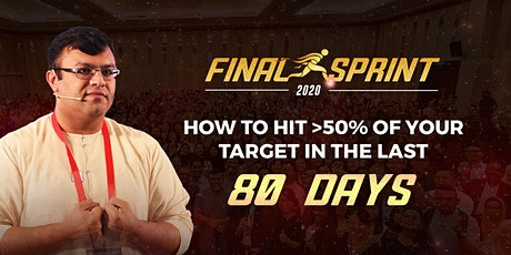 Final Sprint 2020 tickets