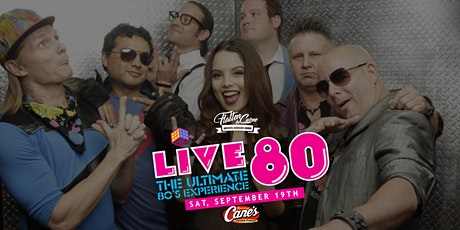 Live 80 [Limited Seating and Live Stream] tickets
