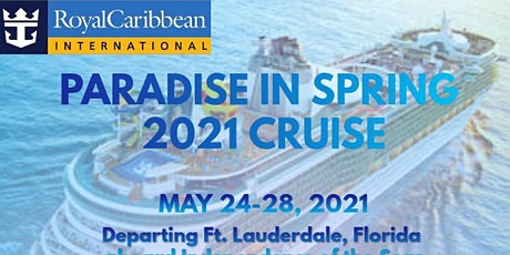 Paradise in Spring 2021 Cruise tickets
