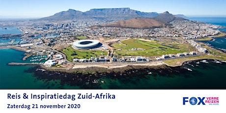 Reis & Inspiratiedag Zuid-Afrika tickets
