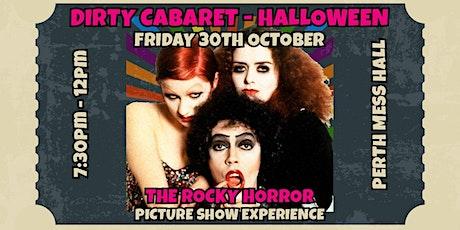 Dirty Cabaret - Halloween tickets