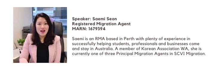 SCVI: Migrate to Australia FREE Information Sessions image
