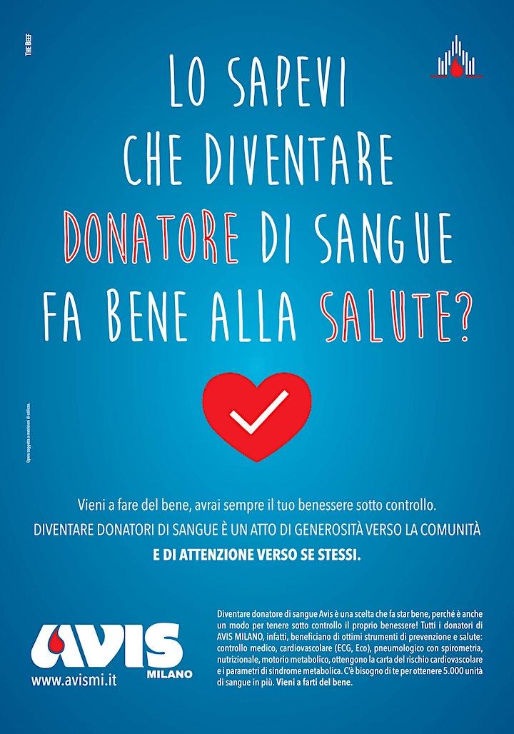 Immagine inCOWORK for Charity: Donazione del sangue insieme ad Avis Milano