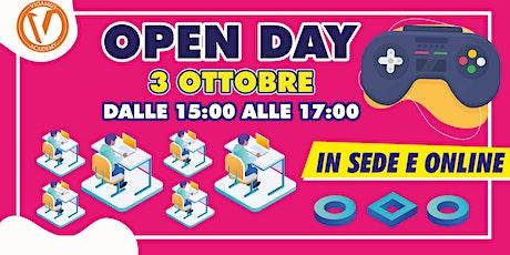 Open Day VIGAMUS Academy Accademia dell'Immaginario biglietti
