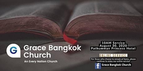 Grace Bangkok Church Sunday Service tickets