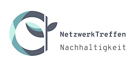 Netzwerktreffen Nachhaltigkeit | CO2 Kompensation tickets
